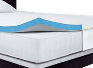 Serta 2.5-Inch Queen Gel-Memory Foam Mattress Topper