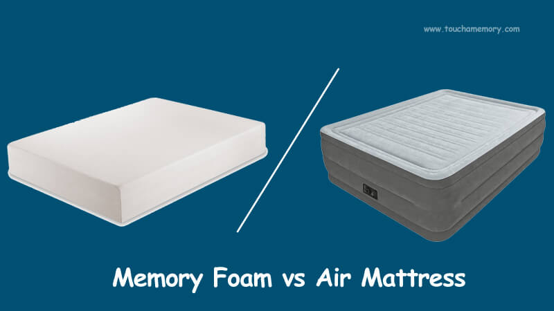 memory foam vs air mattress